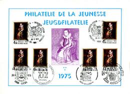 18175096 BE 19750920; Phil. Jeunesse, Peinture C. De Vos, Enfants; Fllet 6 ◙blit. Cob1779 - Libretti Di Lusso