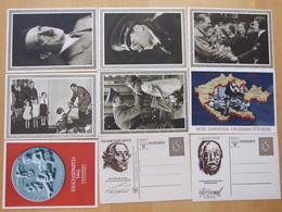 II. Reich - Sehr Gutes Lot Ganzsachen Ungebraucht 95 Stück - Enteros Postales