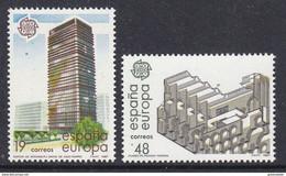 Europa Cept 1987 Spain 2v ** Mnh (50231A) ROCK BOTTOM - Europa-CEPT