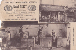 CHARENTE MARITIME JONZAC TENOT DANS L ETAT - Other Municipalities