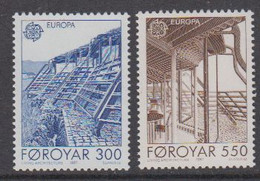Europa Cept 1987 Faroe Islands 2v  ** Mnh (50231B) ROCK BOTTOM - Europa-CEPT