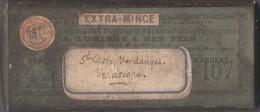 33 - SAINTE-CROIX-DU-MONT - Lot De 3 Plaques De Verre Dans Boîte D'origine - VENDANGES, VENDANGEURS, Vigne, Thème Du Vin - Altri Comuni
