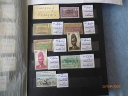 Lot De Timbres  Neufs Et  Oblitérés     Cameroun- Côte D'Ivoire  -Somalis -Guinée - Congo Moyen - Dahomey -Gabon - France (former Colonies & Protectorates)