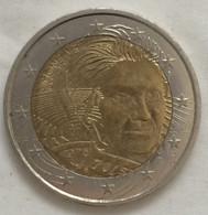 2 Euros République Française, France. 2018. Pièce Commémorative: Simone Veil. TTB. - Frankrijk