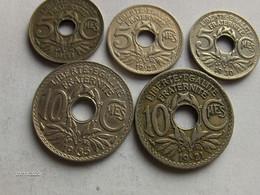 LOT 5 CENTIMES LINDAUER - 1923 - 1930 - 1931 - 10 CENTIMES - 1921 - 1935 - Frankrijk