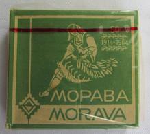 MORAVA - FACTORY NIŠ SERBIA, TOBACCO ORIGINAL BOX WITH CIGARETTES INSIDE - Zigarettenzubehör