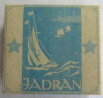 JADRAN - YUGOSLAVIA, TOBACCO BOX WITH CIGARETTES INSIDE - Zigarettenzubehör