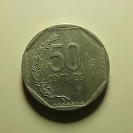 Peru 50 Centimos 2016 - Peru