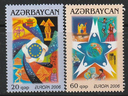 AZERBAIDJAN - N°538/9 ** (2006) Europa - Azerbaïjan