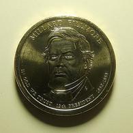 USA 1 Dollar 2010 P Millard Fillmore - Bondsuitgaven