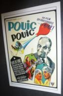 Carte Postale : Louis De Funes - Pouic-Pouic (affiche Film Cinéma) - Manifesti Su Carta