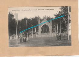 Dept 29 : ( Finistère ) Rumengol, Chapelle Du Couronnement, Préparatifs Du Grand Pardon. - Otros Municipios