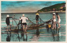 Cap Saint Jacques : Les Pêcheurs Aux Filets    ///   REF.  Sept.  20  ///  N° 13.022 - Vietnam