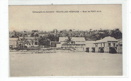 CPA NOUVELLES HEBRIDES - CAMPAGNE DU KERSAINT - QUAI DE PORT VILA - Vanuatu