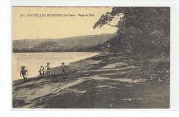 CPA NOUVELLES HEBRIDES - 21. ILE VATE - PLAGE DE MELE - Vanuatu