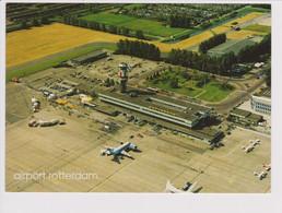 Rppc KLM K.L.M Royal Dutch Airlines Cityhopper Fokker F-28 @ Rotterdam Airport - 1919-1938: Fra Le Due Guerre