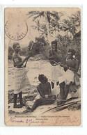CPA NOUVELLES HEBRIDES - JEUNES GARCONS DES ILES SALOMON - Vanuatu