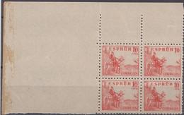 CID 10 CTS. - ERROR DE IMPRESION EN CTS - 1931-50 Storia Postale