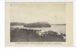 CPA NOUVELLES HEBRIDES - CAMPAGNE DU KERSAINT - ILE IRIRIKI - VUE DE PORT VILA - Vanuatu