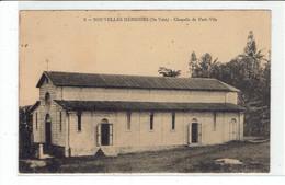 CPA NOUVELLES HEBRIDES - 9. ILE VATE - CHAPELLE DE PORT VILA - Vanuatu