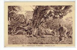 CPA NOUVELLES HEBRIDES - 109. INDIGENES DE AOBA - Vanuatu