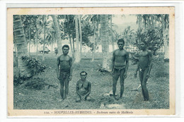 CPA NOUVELLES HEBRIDES - 122. BUSHMEN NAINS DE MALLICOLA - Vanuatu