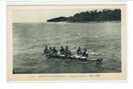 CPA NOUVELLES HEBRIDES - 119. PIROGUE DE GUERRE - ILOT TOMAN - Vanuatu