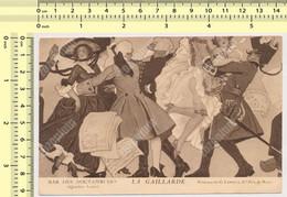 PARIS  BAR DES NOCTAMBULES LA GAILLARDE Peinture De G. Leroux Danses Carte Postale Old Postcard - Otros