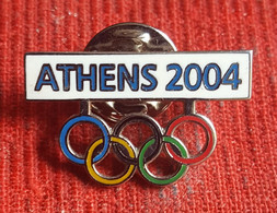 OLYMPIC GAMES,  ATHENS 2004  Badge / Pin - Olympic Games