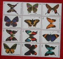 Schmetterling Vlinders Papillons Butterflies NVPH 1427-1438 2003 MNH POSTFRIS NEDERLANDSE ANTILLEN  NETHERLANDS ANTILLES - Niederländische Antillen, Curaçao, Aruba
