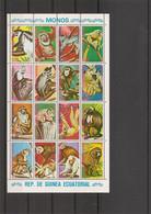 Guinée équatoriale - Singes ( 720/735 XXX -MNH) - Equatorial Guinea