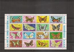 Guinée équatoriale - Papillons ( 736/751 XXX -MNH) - Equatorial Guinea