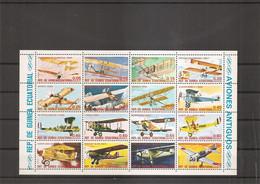 Guinée équatoriale - Avions ( 1598/M1600 XXX -MNH) - Equatorial Guinea