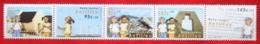 Kinderzegels Child Welfare Enfant NVPH 1554-1558 2004 MNH POSTFRIS NEDERLANDSE ANTILLEN  NETHERLANDS ANTILLES - Curacao, Netherlands Antilles, Aruba