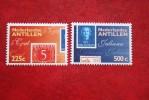 NVPH Show Den Haag NVPH 1238-1239 1998 MNH POSTFRIS NEDERLANDSE ANTILLEN  NETHERLANDS ANTILLES - Curacao, Netherlands Antilles, Aruba