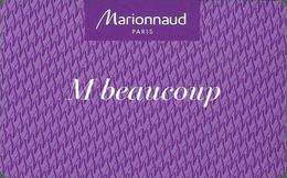 Carte Cadeau - Marionnaud  (carte De Fidélété)   - GIFT CARD /GESCHENKKARTE - Gift Cards