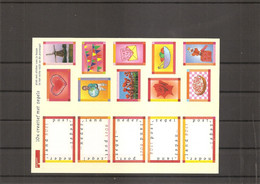Pays-Bas ( 1643/1647 En Feuille XXX -MNh) - Blocks & Sheetlets