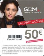 Carte Cadeau - Grain De Malice / 50 €  - GIFT CARD /GESCHENKKARTE - Gift Cards
