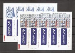 Pays-Bas ( 1615/1616 En Feuille XXX -MNh) - Blocks & Sheetlets