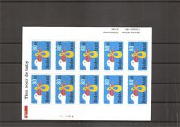 Pays-Bas ( 1604 En Feuille XXX -MNh) - Blocks & Sheetlets