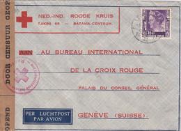 Nederlands-Indië Cover Red Cross 1947 - Netherlands Indies