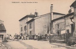 N°5520 R -cpa Virecourt -rue Des Chevaliers De Maire- - Sonstige Gemeinden