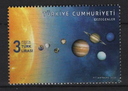 Turkey (2020) - Set - /  Planets - Solar System - Astronomia - Astronomie - Astronomy - Space - Astronomùia