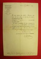1808 Las Général François Legendre D'Harvesse Baron (Insulté Par Napoléon) Nomination François Gourdin Capitaine 19 RI - Historical Documents