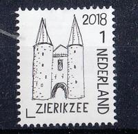 Nederland - Mooi Nederland 2018 - Stadspoort/City Gate/Stadttor - Zierikzee - Zeeland - MNH - NVPH 3656 - Period 2013-... (Willem-Alexander)