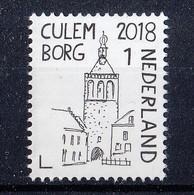 Nederland - Mooi Nederland 2018 - Stadspoort/City Gate/Stadttor - Culemborg - Gelderland - MNH - NVPH 3655 - Period 2013-... (Willem-Alexander)