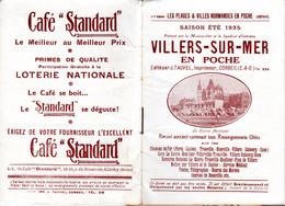 Villers Sur Mer Et Deauville Recueil De Renseignements Utiles De 1935 - Non Classés