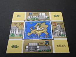 K31902  -  Bloc MNH Hungary 1980 - Europa - Europäischer Gedanke