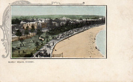 Australie - CPA. SYDNEY -  Manly Beach -  Scan Du Verso - - Other