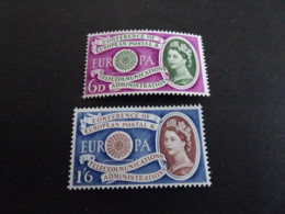 K30600 -  Set MNH Great-Britain  - 1960 - CEPT Europa - Europa-CEPT